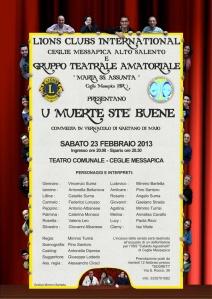 Locandina GTA febbraio 13